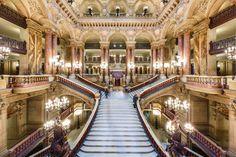The Main Stair inside Opera Garnier in Paris by Loïc Lagarde on 500px