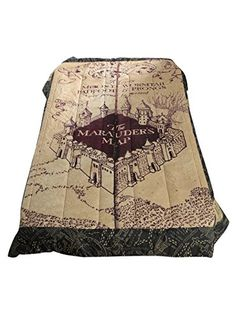 Harry Potter The Marauder's Map Full/Queen Comforter | Geek Armory