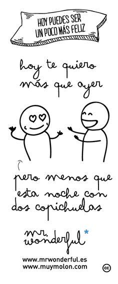 wonderconsejo www.mrwonderful.es, www.muymolon.com