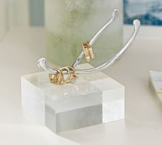 Wishbone Ring Holder: Give your bestie this gorgeous ring holder as a new decor piece for her home.