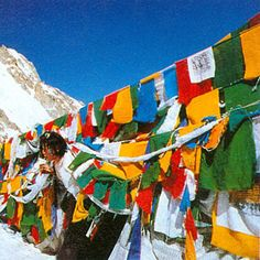 Journey to Tibet 1996 Tibet, Prayer Flags, Prayers, Journey, Outdoor Decor, Prayer, The Journey, Beans