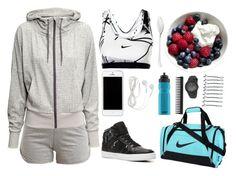 """Sporty Style"" by blue-sky-designer ❤ liked on Polyvore"