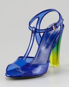 PVC Shoes - Sergio Rossie @talkshoes.com