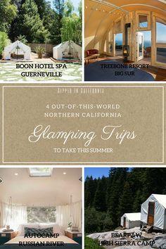 California Travel, Northern California, Big Sur, Hotel Spa, Glamping, Travel Destinations, World, Summer, The World
