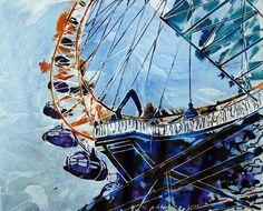 "Saatchi Online Artist Cathy Read; Mixed Media, ""Millenium Vision"" #art"