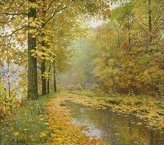 """Autumn in the the Park"" - MolchanovArt"