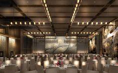 rosewood hotel beijing who design - Google Search Ballroom Design, Beijing Hotels, Public Hotel, Rosewood Hotel, Turkish Design, Hall Lighting, Function Room, Church Design, Hotel Interiors