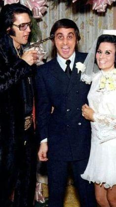 Elvis at a friends wedding