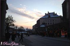 Sunset at Viktualienmarkt - Munich/ München, Germany/Deutschland