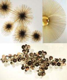 I love the work of wonderfully quirky home guru Jonathan Adler, who you may know from Bravo's Top Design. So when the designer shares one of his obsessions, I pay attention. Case in point: These fantastically funky metal wall sculptures by C.