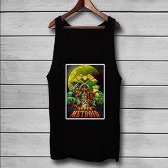 Super Metroid Custom Tank Top T-Shirt Men and Woman