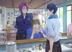 Rin. Makoto. Haru. Free!