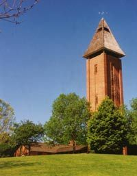 HI-Tower Bell Carillon, Mahomet, IL - six stories located in Lake of the Woods park