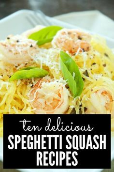 From pad thai to lasagne to mac and cheese, this list has all kinds of awesome spaghetti squash recipes you don't want to miss!