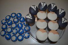 Had fun making all these. Cupcakes Design, Fondant, Desserts, How To Make, Fun, Tailgate Desserts, Fondant Icing, Dessert, Postres