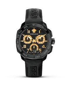 Versace Italian-Style Swiss Made Watch, 44mm | Bloomingdale's