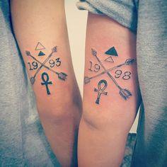10 Mejores Imágenes De Tatto De Hermanos Sister Tat Tiny Tattoo Y