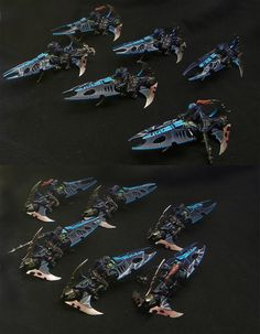 The Internet's largest gallery of painted miniatures, with a large repository of how-to articles on miniature painting Warhammer 40k Dark Eldar, Eldar 40k, Warhammer Fantasy, Warhammer 40000, Warhammer Figures, Warhammer Models, Warhammer 40k Miniatures, Tyranids, Fantasy Battle