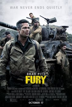 Fury- one of the best movies I've ever seen!