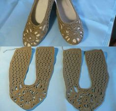Crochet Sandals, Crochet Shoes, Hobbies And Crafts, Huaraches, Slippers, Shoes And Socks, Crochet Fashion, How To Knit, Espadrilles