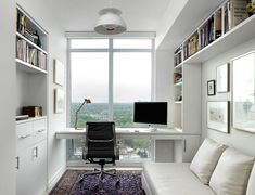Contemporary Home Office by BOXWOOD ARCHITECTS