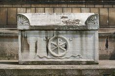 Sarcophagus with Christogram