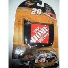 2004 Tony Stewart #20 Home Depot Reverse Black & Orange Special Paint Scheme 1/64 Scale Diecast Car & Bonus Matching Magnet Hood Winners Cirlce  Features : 2004 #TonyStewart #20 Home Depot Reverse Black & Orange Special Paint Scheme 1/64 Scale Diecast Car & Bonus Matching Magnet Hood #WinnersCirlce *Hood and trunk do not open