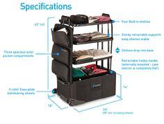 旅行時にスーツケースを使うと、大量の荷物を詰め込める代わりに欲しい衣類や荷物を探り当てるのに苦労したり、荷物の出し入れをしたあとに何度も整理を繰り返す必要があったりするもの。そこで、スーツケースを