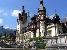castles in eastern europe | RESIDENCE: Peles Castle, one of the most beautiful castles in Europe ...