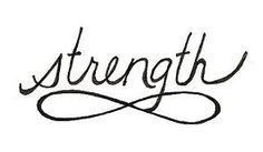 You wil always have the strength to keep on going