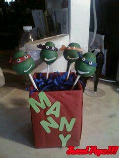 Ninja Turtle Pops!