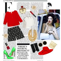 When the truth lies.., created by #farah-125 on #polyvore. #fashion #style Marc by Marc Jacobs #Casadei