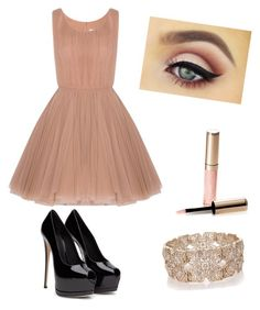 """Outfit with Dress"" by szabo-dominika on Polyvore featuring Lara Khoury, Oasis and By Terry"