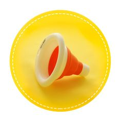 Sinchies - Collapsible Funnel. To easily refill Sinchies reusable baby food pouches.