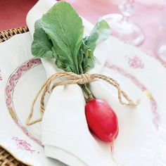 Unique Spring Ideas : Decorating withVegetables - Brenda's Wedding Blog - unique daily wedding blogs from Best Wedding Sites for brides & grooms