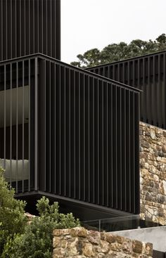 Patterson Associates specified Locarno RL200 blade in this impressive example of New Zealand Architecture