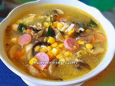 Resep Sup Jagung - Resep Masakan Indonesia Homemade™