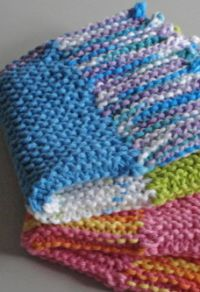 18 Free Knitted Dishcloth Patterns | Dances with Wools