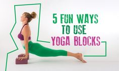 Yoga props are versatile tools that help students deepen their understanding and expression of asanas. Here are five ideas for practicing with yoga blocks.