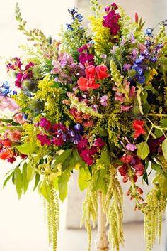 local texas wildflower arrangements