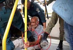 Military Coup Brutality Against An Old Man We All Stand Firmly Against Egyptian Coup