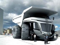 Dominic Schindler design. A concept of how a mining truck may look in 2025.
