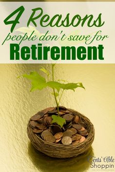 4 Reasons People Don't Save for Retirement