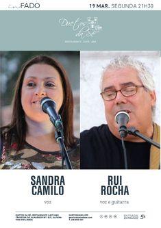 """""""Duetos da Sé"""", #Alfama, #Lisboa, #Lisbon, #Portugal - SEGUNDA-FEIRA 19 DE MARÇO 2018 – 21H30 - #CONCERTO """"IN #FADO"""" - Sandra Camilo (voz) & Rui Rocha (voz e guitarra) - Um pequeno passeio por canções Portuguesas de grandes autores e interpretes.  Desde o Fado, à famosa """"canção ligeira"""", passado por temas originais e os grandes clássicos.  Para além das composições Portuguesas, podem surgir umas incursões pela música Francesa e MPB.  Fado – fados – música portuguesa – Portuguese music ..."""