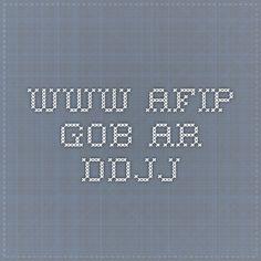 www.afip.gob.ar ddjj
