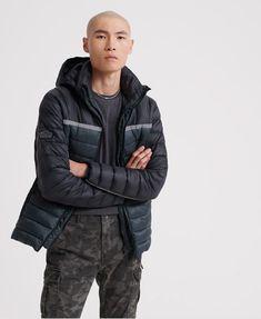 Superdry Dolman Downhill Racer Fuji Jacket in Black (Size: S) Superdry Jackets, Puffer Jackets, Winter Jackets, Nylons, Saved Items, Winter Wardrobe, Parka, Joggers, Underwear