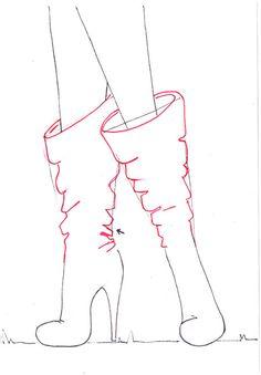 Image result for anime fashion sketch