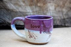 HoCho, tea, java....any hot bevvie in this mug will make me smile...a must have for the kitchen indeed!