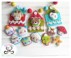Check out this item in my Etsy shop https://www.etsy.com/listing/551178858/tinies-set-of-twelve-christmas-ornament