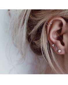 Piercings na orelha